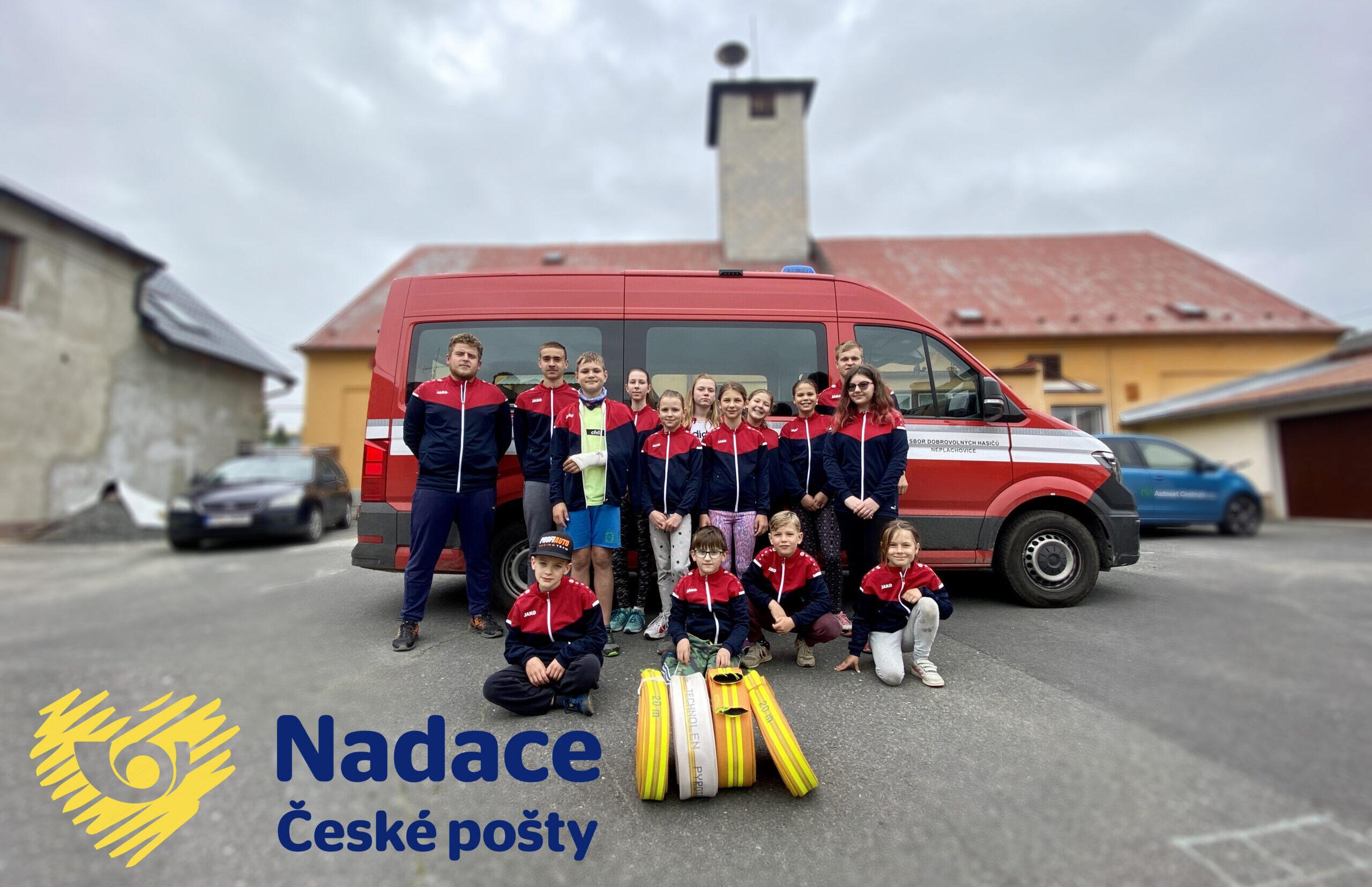Hadice z Nadace České pošty